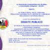 Invitacion debate publico